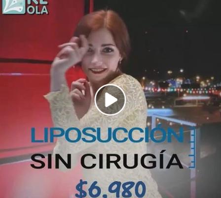 LIPOSUCCIÓN SIN CIRUGÍA $6,980