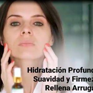 El hialuronico HIDRATA la piel y rellena las líneas de expresión