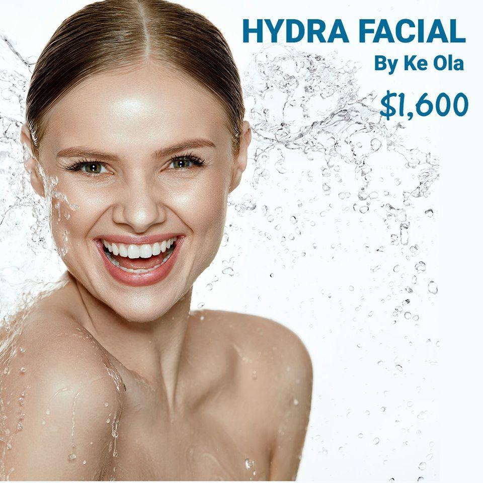 Hydra facial en Ke Ola